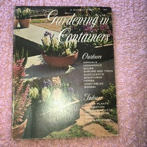 Vintage gardening in containers